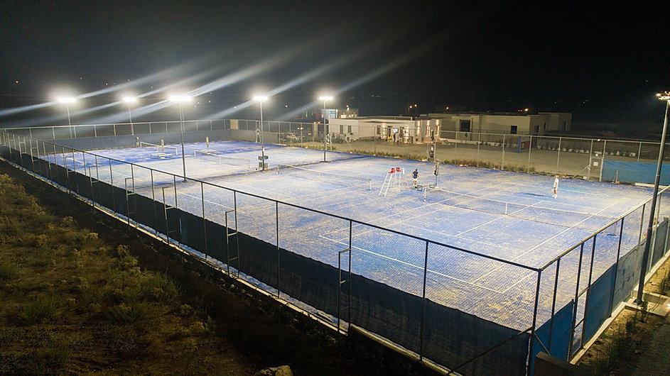 AEGEAN TENNIS CENTRE TENNIS COURTS LIGHT