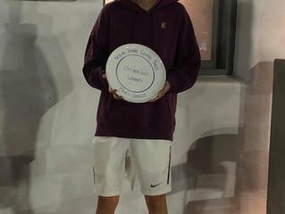 Men's Singles October 2020 Aegean Tennis Centre Paros