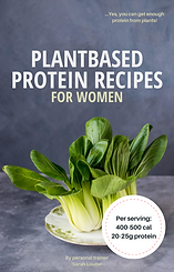 Vegan Protein Recipes for women.png