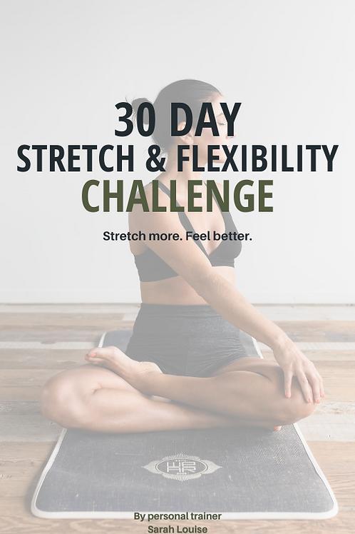 30 Day Stretch & Flexibility Challenge
