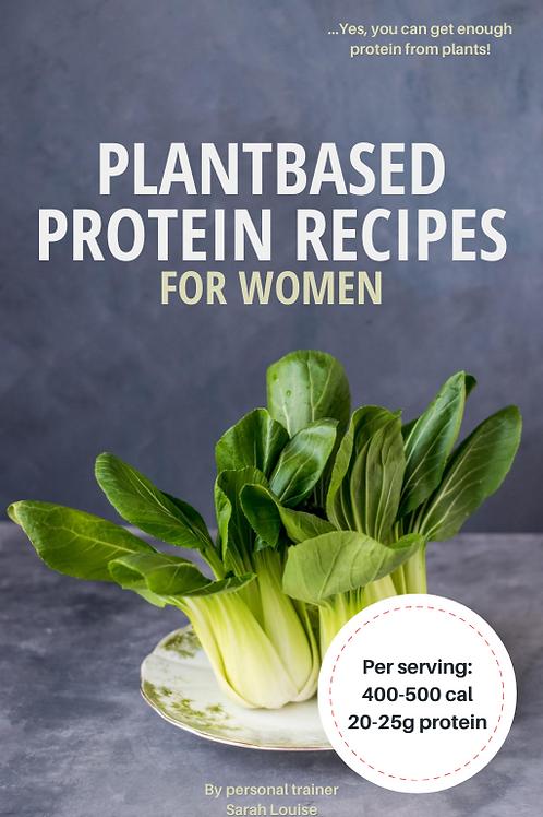 Vegan Protein Recipes (for women)