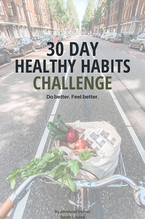 30 Day Healthy Habits Challenge