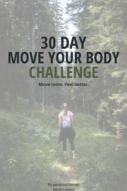 30 Day Move Your Body Challenge