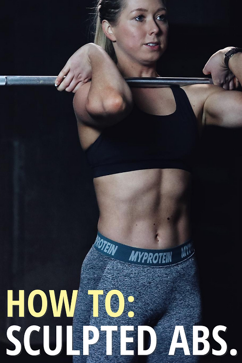 HOW TO: sculpted abs.