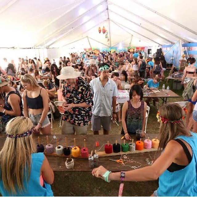 Coachella Art Studos lead by sarah Schei