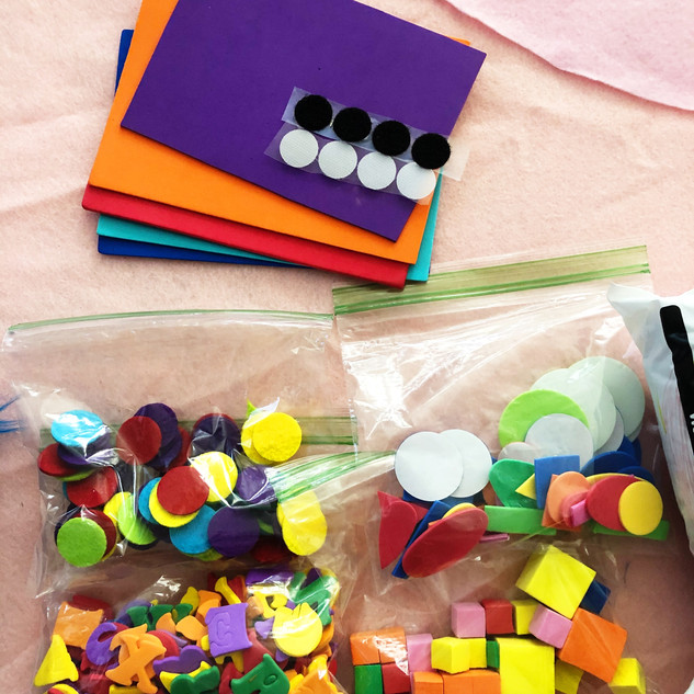 Quarentine arts and craft packs 5.JPG