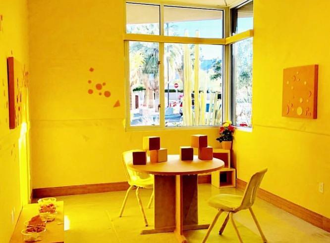 Felt Art Room Installation by Sarah Sche