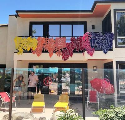 Select House at Splash House art directi