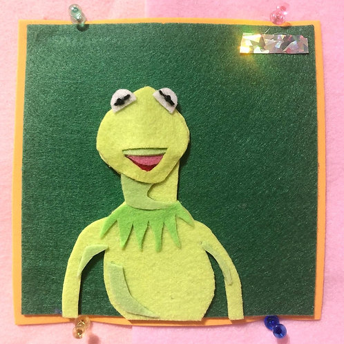 Kermit the Frog - Felted