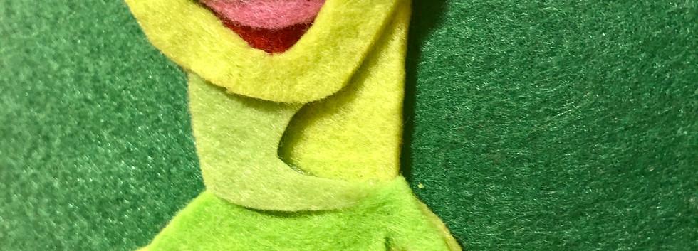 Sarah Scheideman Kermit the Frog portrai