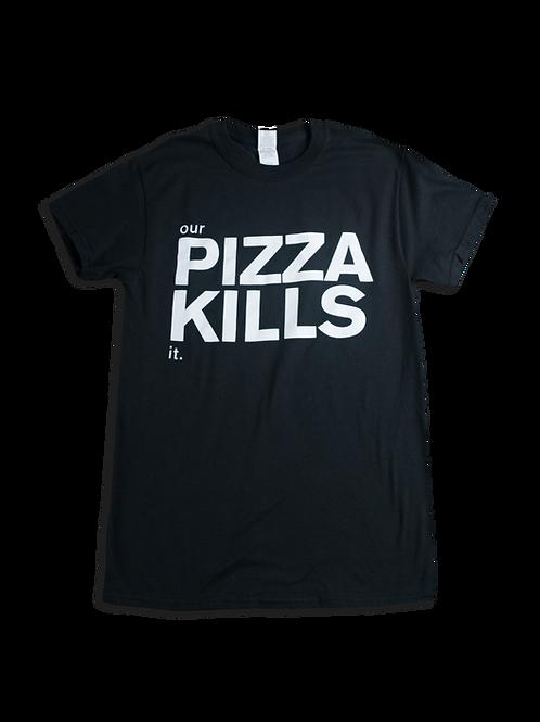 Pizza Kills - Short Sleeve, Black