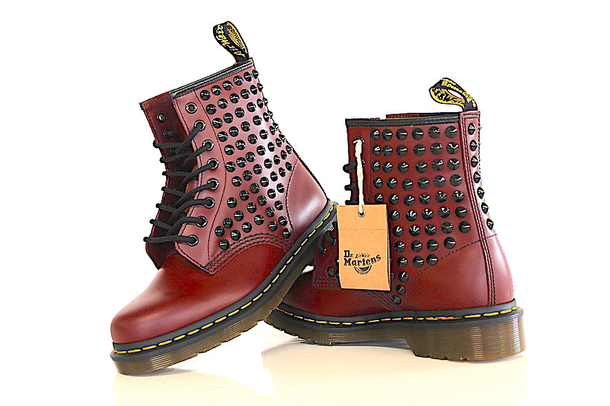 DR MARTENS CHERRY BLACK
