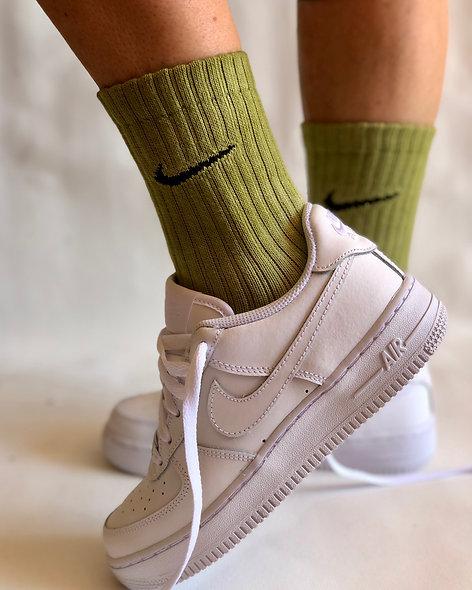 Socks Forest Green