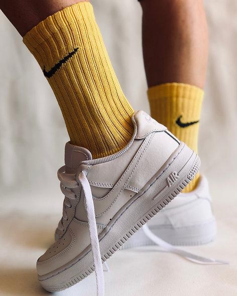 Socks Pale Yellow