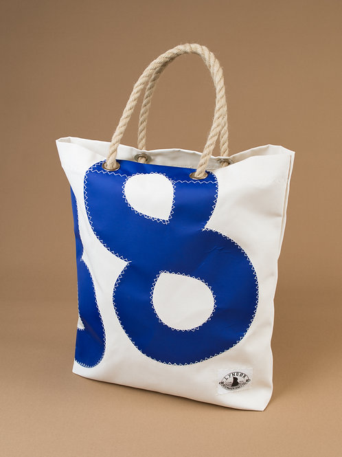 Shopping Bag with Numbers