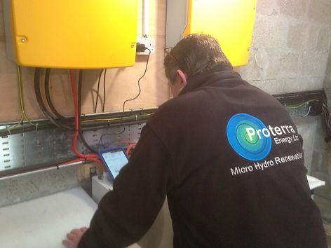 Off Grid Energy Scotland Micro Hydro and Diesel Generator