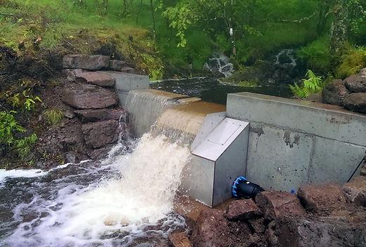Micro Hydro Intake Scotland Off grid Energy Hydro