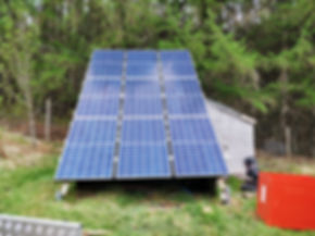 Off Grid Energy Solar PV and Diesel Generation