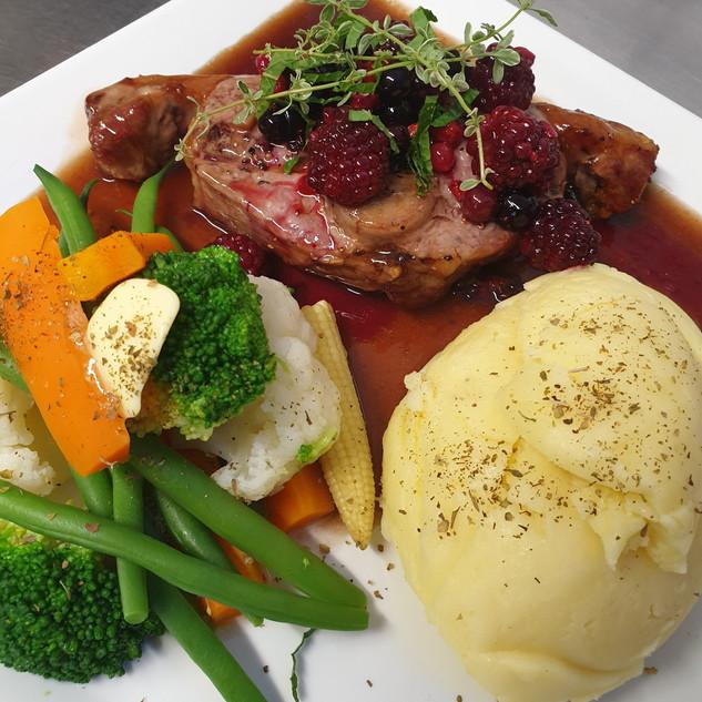 Lamb Double Loin Chop