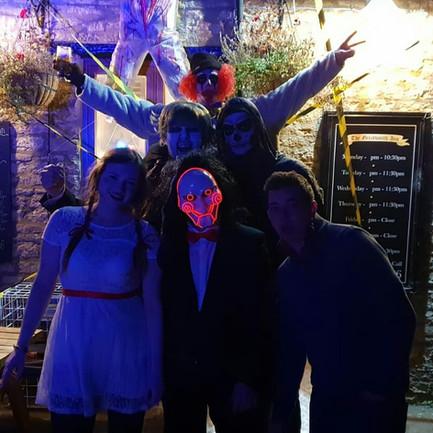 Halloween costume party