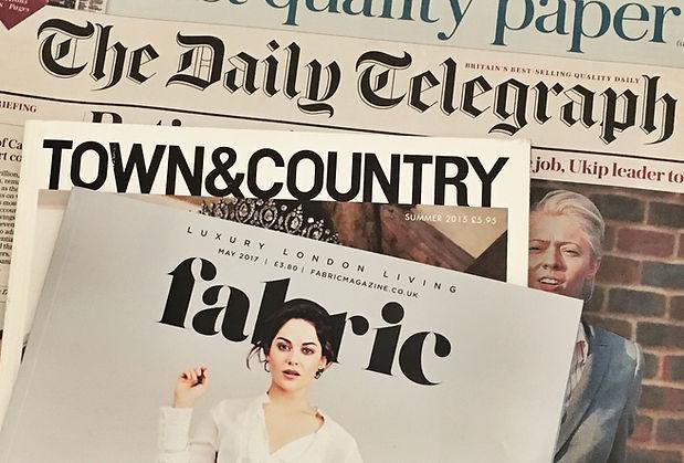 Newspaper and magazines