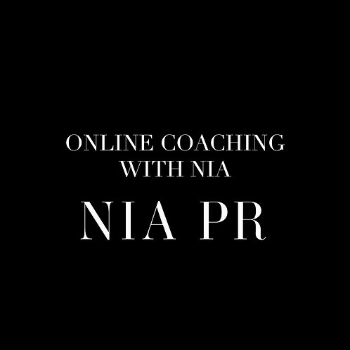 ONLINE COACHING WITH NIA