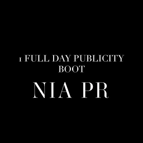 1 FULL DAY PUBLICITY BOOT-CAMP