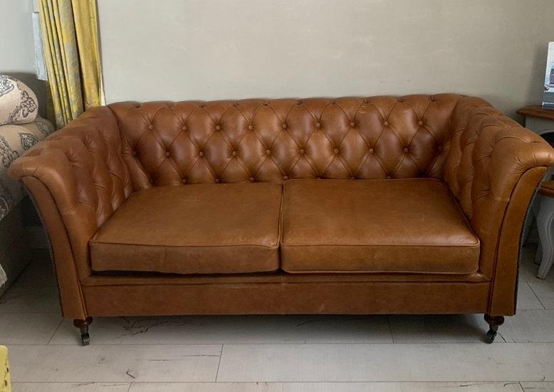 Vintage Leather Sofa