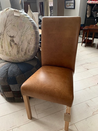 Dining Chair Vintage Leather