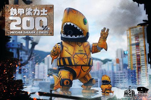 200% Mecha Shark Lords & Mecha Shark lords Jr. - Super Engineer DX set