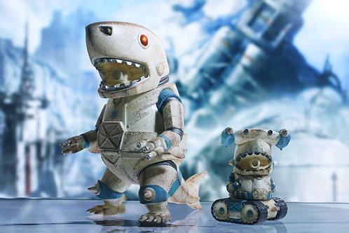 Mecha Shark Lords & Devil Shark Lords Jr. (Snow fight set)