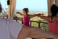 Yoga every morning