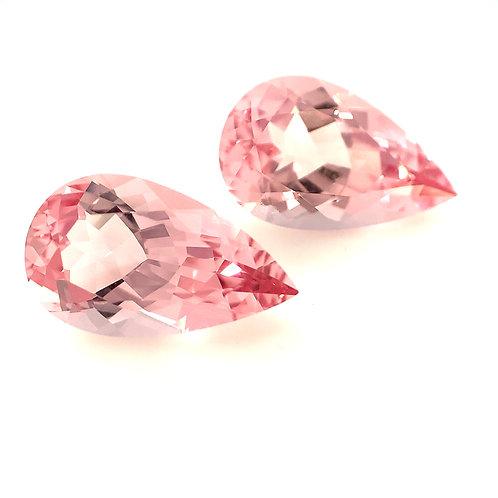 Pink Morganite Pair 6.48cts