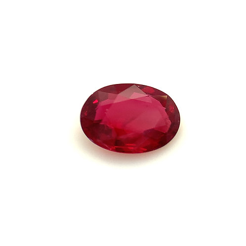 Unheated Pigeons Blood Ruby 0.53cts