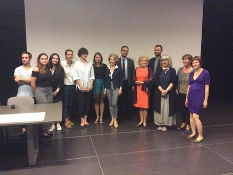 Presentation of the Garden of Tolerance in Krakow