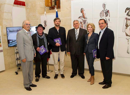 Art as a Tool for Peace : on the 17th November 2016, the exhibition of Art Camp in Gozo, Malta