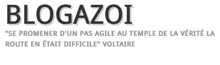 Article sur le blog Blogazoi