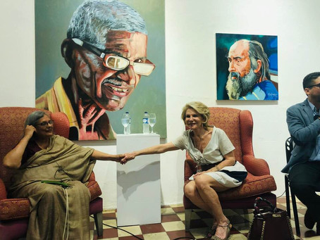 Débat public avec Madame Ela Gandhi, Colombie / Public talk with Mrs Ela Gandhi, Columbia