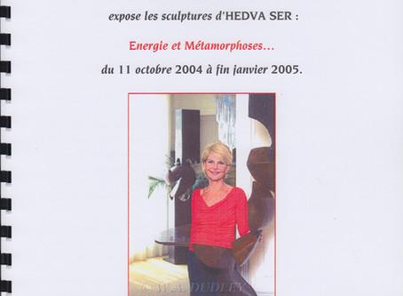 Exposition de sculptures au Plaza-Athénée, Paris
