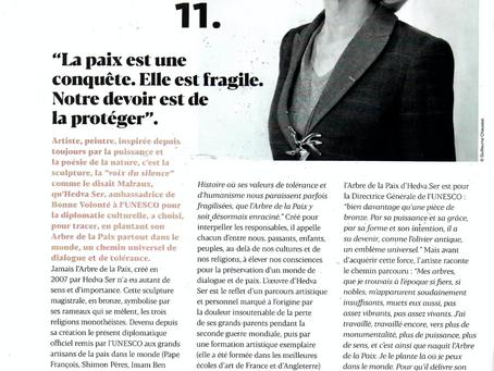Article dans le Journal de la Mairie du 16ème arrondissement de Paris
