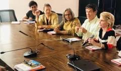 Le mouvement international de l'art pour la paix se poursuit à Carthagène des Indes (Colombie)