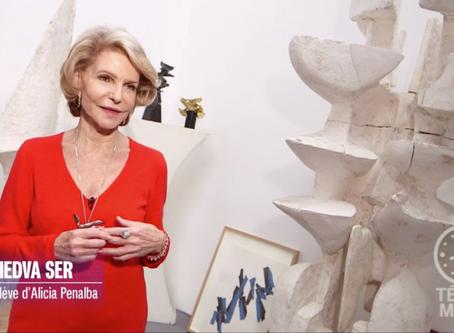 "Vidéo ""Télématin"", France 2 sur la sculptrice Alicia Penalba"