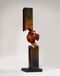 Réunification, 2000-2003, 68 x 23 x 18 cm