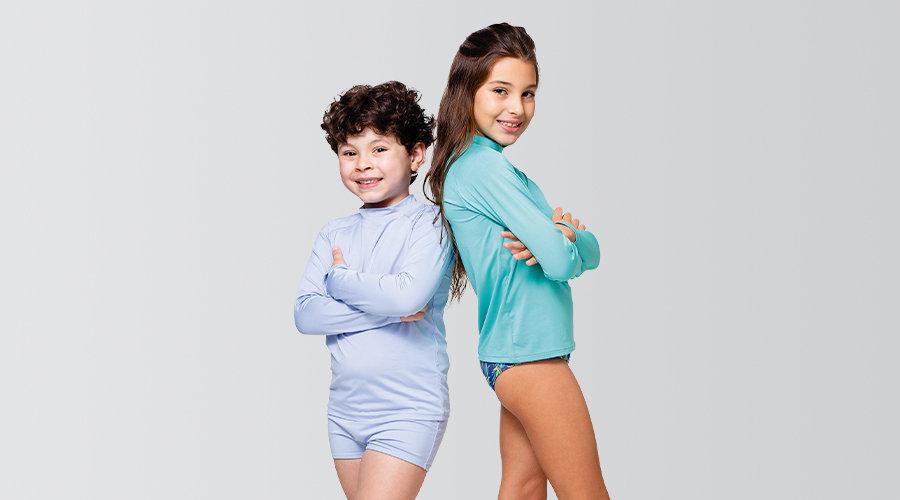 Camiseta Splash - Com Proteção UV -  Infantil