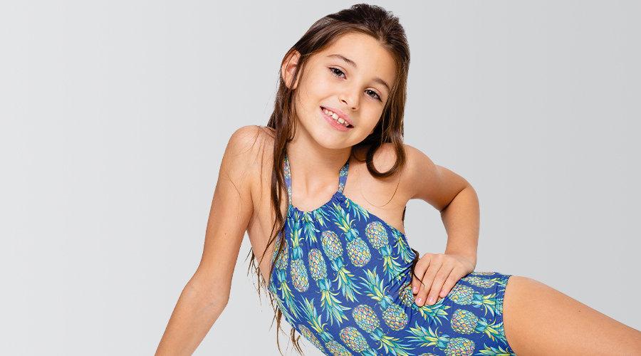 Maiô Infantil Estampado - Com Proteção UV