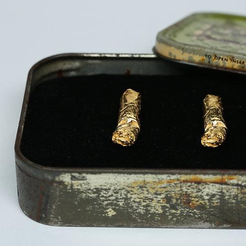 Cigarette Butt Earrings