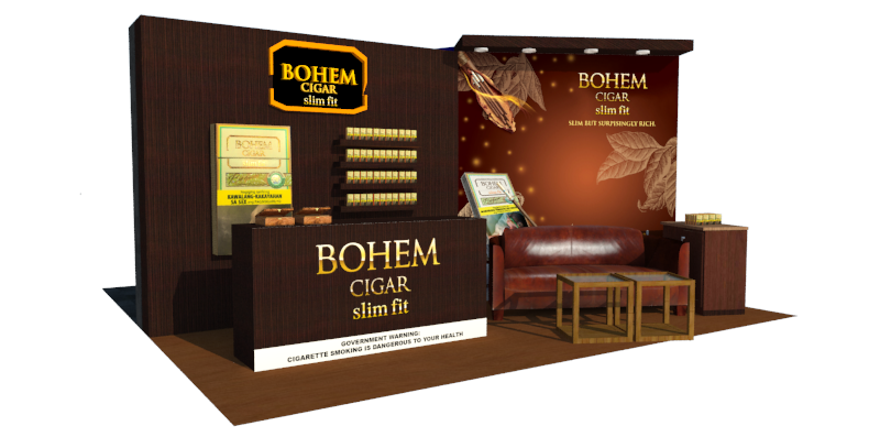 Bohem Booth Design
