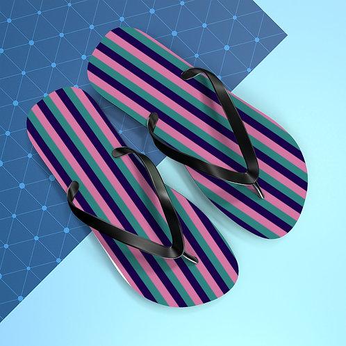 Fellowship Stripe Flip Flops