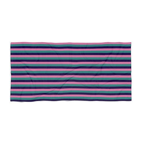 Striped Fellowship Beach Towel