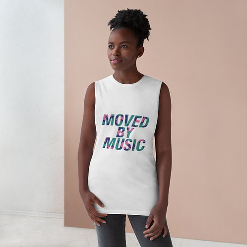 """Unisex """"Moved By Music"""" Tank"""